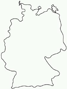 Palm OS - Germany map drawing