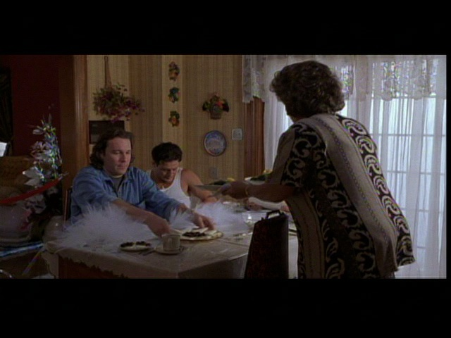 What an example of enthocentrism in the movie my big fat greek wedding?