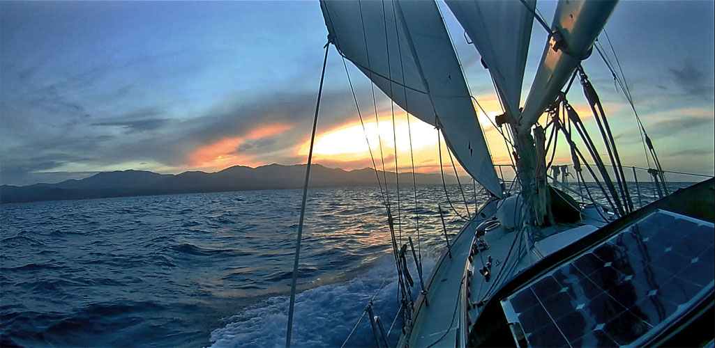 Pacific Seacraft 34 Sailboat - Design and Sailing