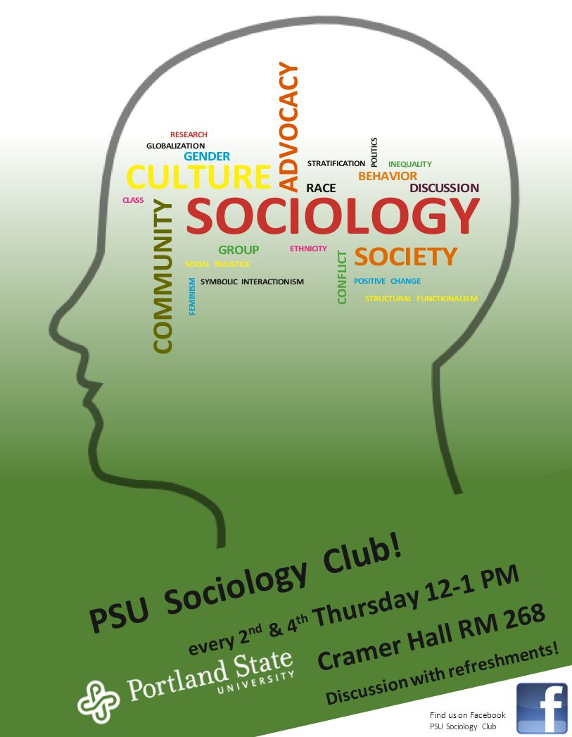 Sociology 301 foundations of sociology i join the sociology club attend monthly meetings buycottarizona